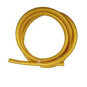 Mangueira Silicone Dourada
