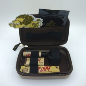 Kit Puff Grande Raw - Bege