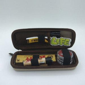 Kit Puff Pequeno Raw - Bege