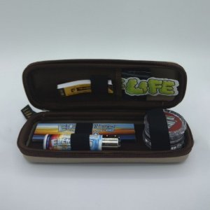 Kit Puff Pequeno Elements - Bege