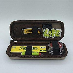 Kit Puff Pequeno Papelito - Bege