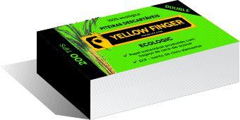 Piteira Yellow Finger Double Eco