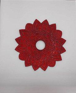Prato Flowers Phantom - Vermelho