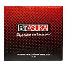 Papel Alumínio Brasuka - 50 unidades