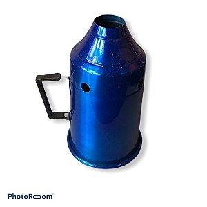 Abafador p/ narguile - Azul Metálico