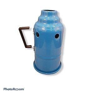 Abafador p/ narguile - Azul Claro