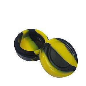 Slick Silicone Grande - Amarelo/Preto