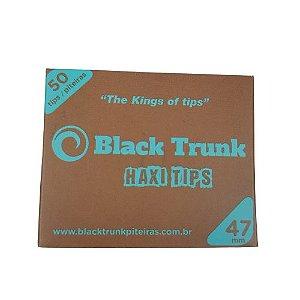 Piteira Extra long Black Trunk 47mm - 50UN