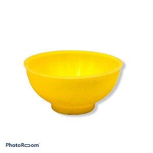 Cuia de Silicone Média - Amarela