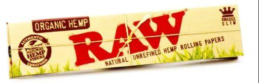 Seda Raw Organic Hemp - 1/4mm 50 unidades