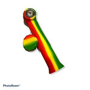 Pipe De Silicone Grande - Reggae