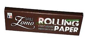 Seda Zomo Rolling Paper Oraganic 76mm - 33 Unidades