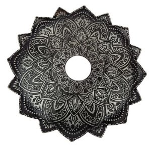 Prato Flowers Malik - Prata Escuro