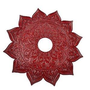 Prato Flowers - Vermelho