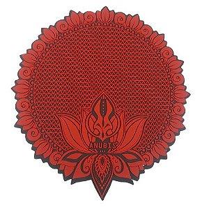 Proteção para Base / Tapete Anubis - Vermelho e Preto