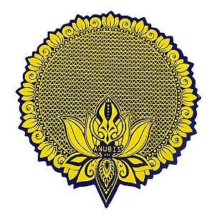 Proteção para Base / Tapete Anubis - Dourado e Azul