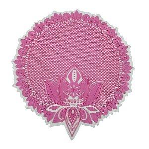 Proteção para Base / Tapete Anubis - Rosa e Branco