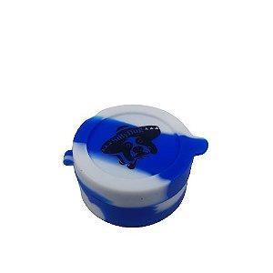 Slick Silly Dog Médio com Divisória - Azul e Branco