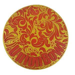 Proteção para Base / Tapete Union Bowl - Dourado e Vermelho