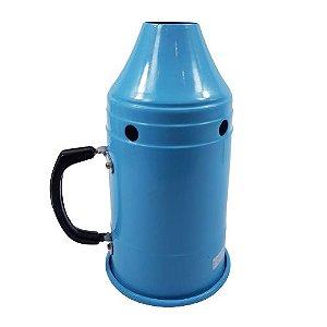 Abafador p/ narguile MG Hookah - Azul Claro