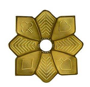Prato Zenith Flush - Dourado