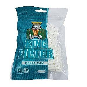 Filtro Aleda King Filter Menta Slim 15 x 6mm - 150Filtros