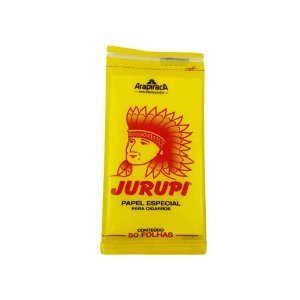 Papel Especial Para Cigarros Jurupi - 50Folhas