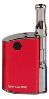 Kit Mini 420 Box Para Óleo - Vermelho