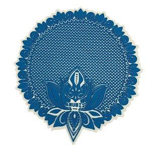 Proteção para Base / Tapete Anubis - Azul e Branco