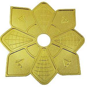 Prato Diamond Imperial Grande - Dourado