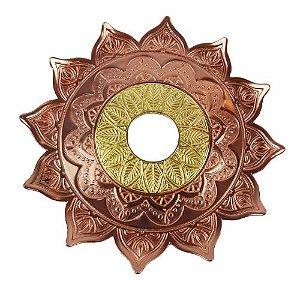 Prato Flowers - Rose e Dourado