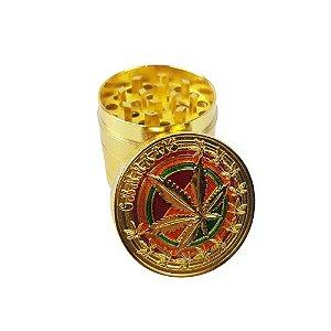 Dichavador Metalico 4 Partes - Erva Dourado