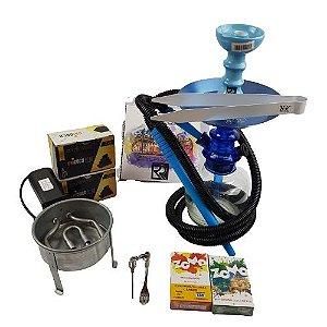 Kit Completo Dom Hookah - Azul