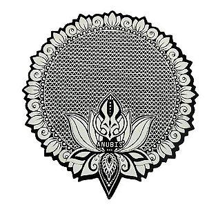 Proteção para Base / Tapete Anubis - Branco e Preto