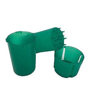 Pote Hermetico Com Dichavador - Verde