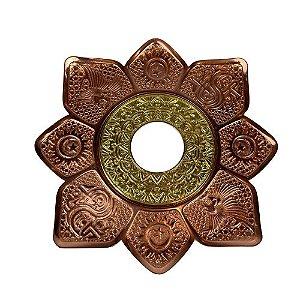 Prato Flowers Antares - Rose e Dourado