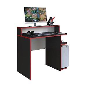 Escrivaninha Gamer Power 100cm Preto Art in Móveis