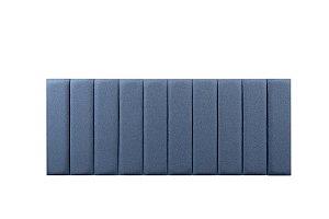 Cabeceira para Cama Queen em Azul 2002 Mude