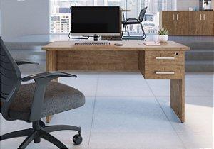 Mesa para Escritório C/ Gaveteiro Suspenso Ative Vermont Home Office Artesano