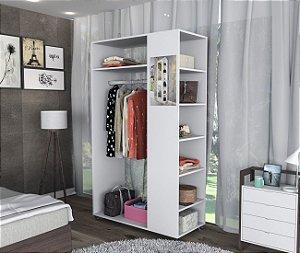 Closet Moove com Espelho e Prateleiras Appunto Branco