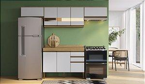 Cozinha Completa Casablanca 5 peças A3490 Mel/Off White Casa Mia