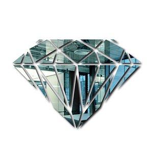 Espelho Diamante Decorativo