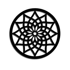Mandala em Madeira - G ( 90 cm de diâmetro )