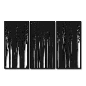 Quadro Segmentado Floresta Negra