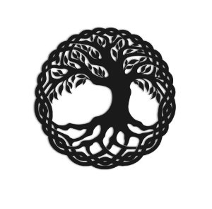 Quadro Árvore da Vida Circular