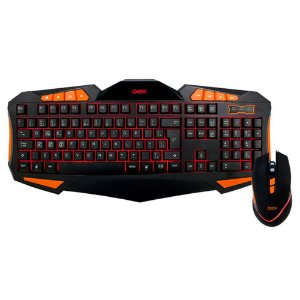 TECLADO E MOUSE USB MULTIMIDIA GEAR GAMER, OEX TM301
