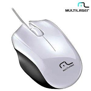 MOUSE USB SPORT BRANCO, MULTILASER MO217