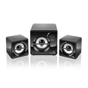 CAIXA DE SOM 10W 2.1 SUBWOOFER BOX, USB, MULTILASER SP081