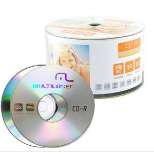 DISCO CD-R SHRINK, MULTILASER CD051