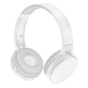 FONE DE OUVIDO HEADPHONE PREMIUM BT/SD/FM BRANCO/PRETO, MULTILASER PH265